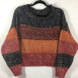 Forever21 Holiday Stripped Sweater